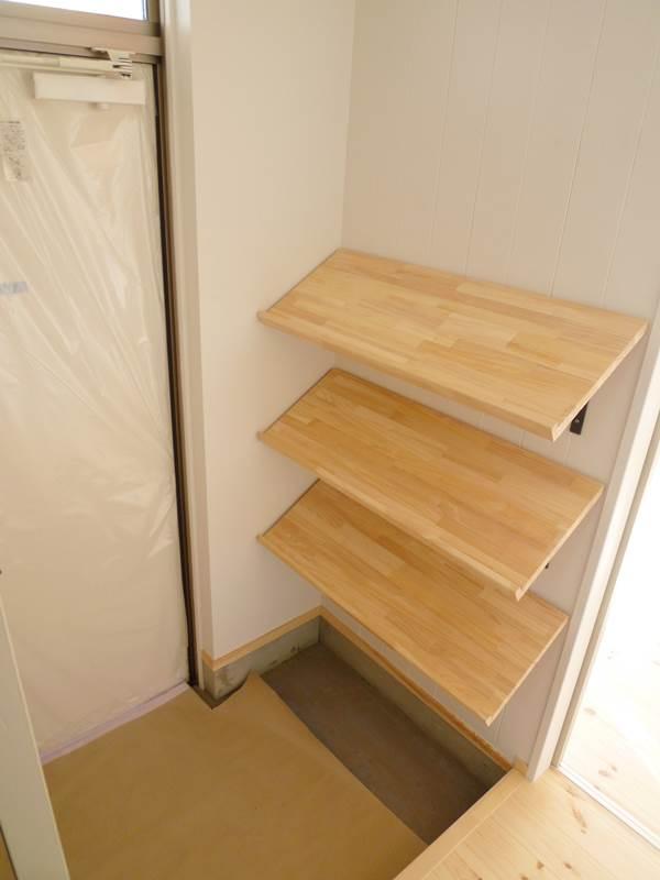 玄関の靴置き場