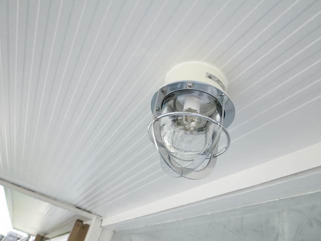 リノベーション借家 屋外照明
