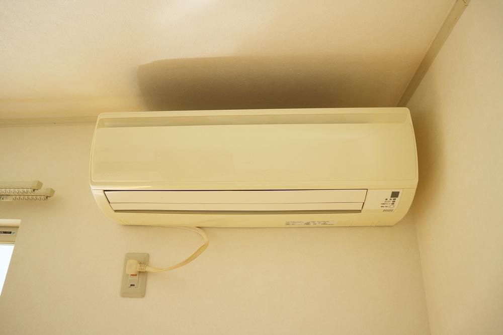1階LDKは、エアコン付き