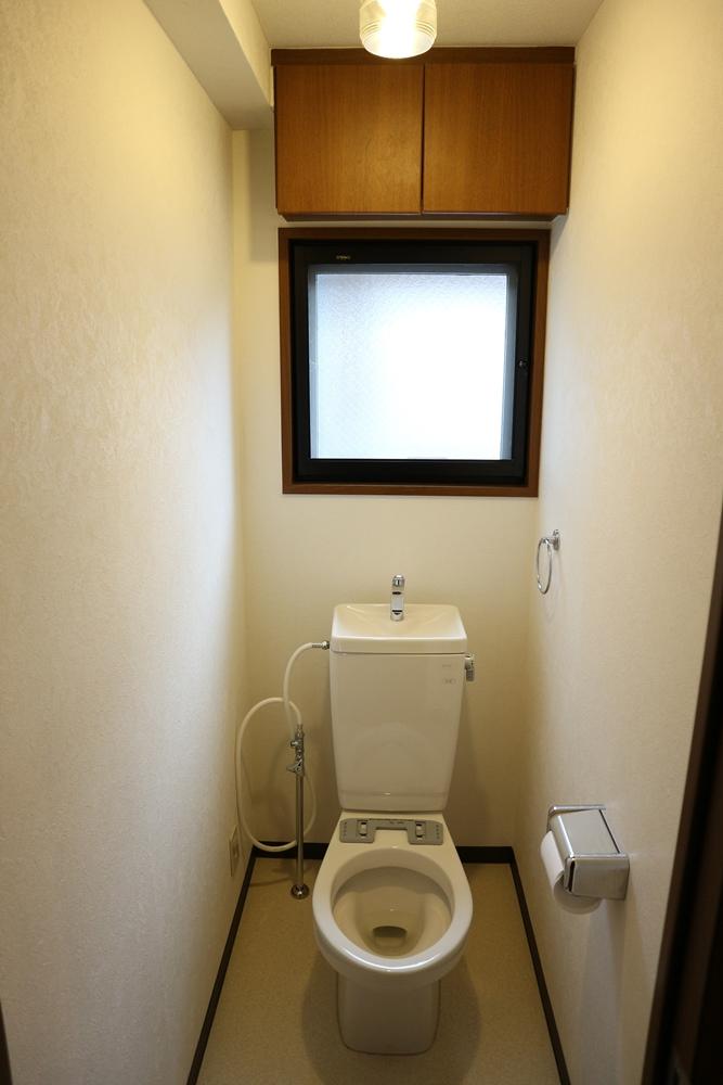 トイレ、シャワー付き便座付けます