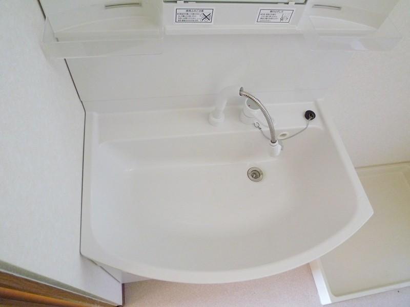 幅広の洗面台シンク