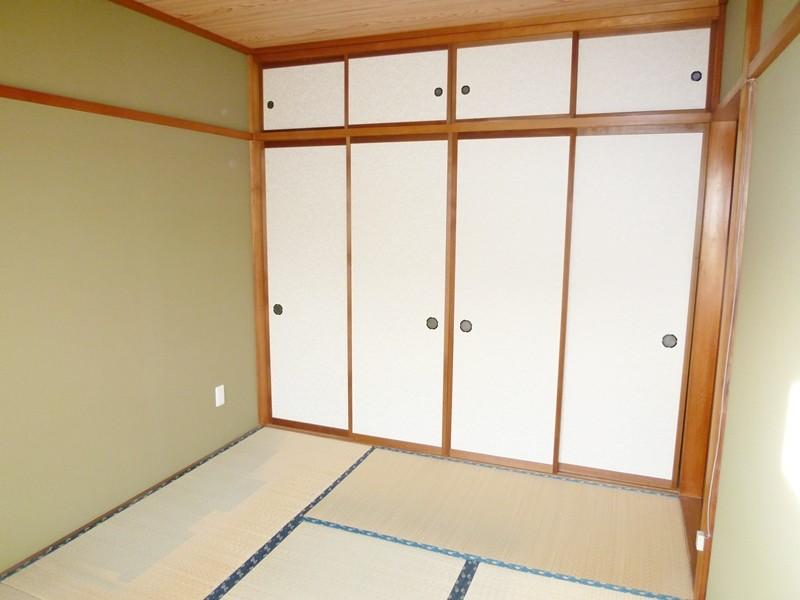 唯一の独立部屋、和室6帖