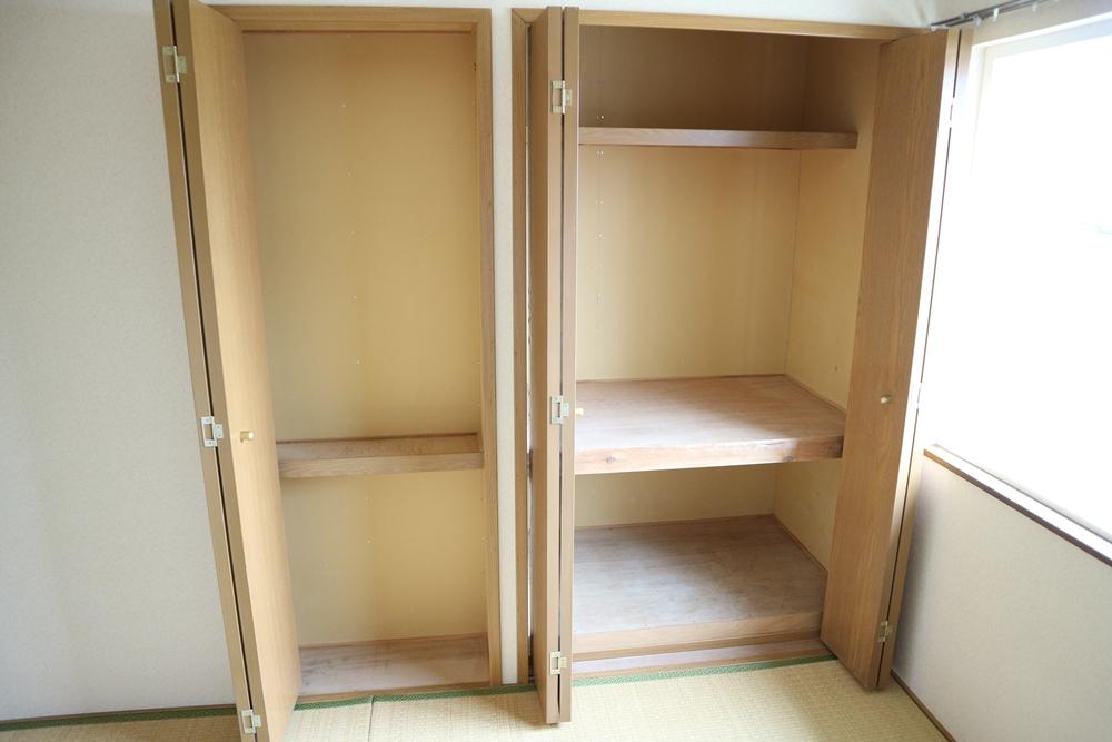 和室6帖の収納は2ヶ所