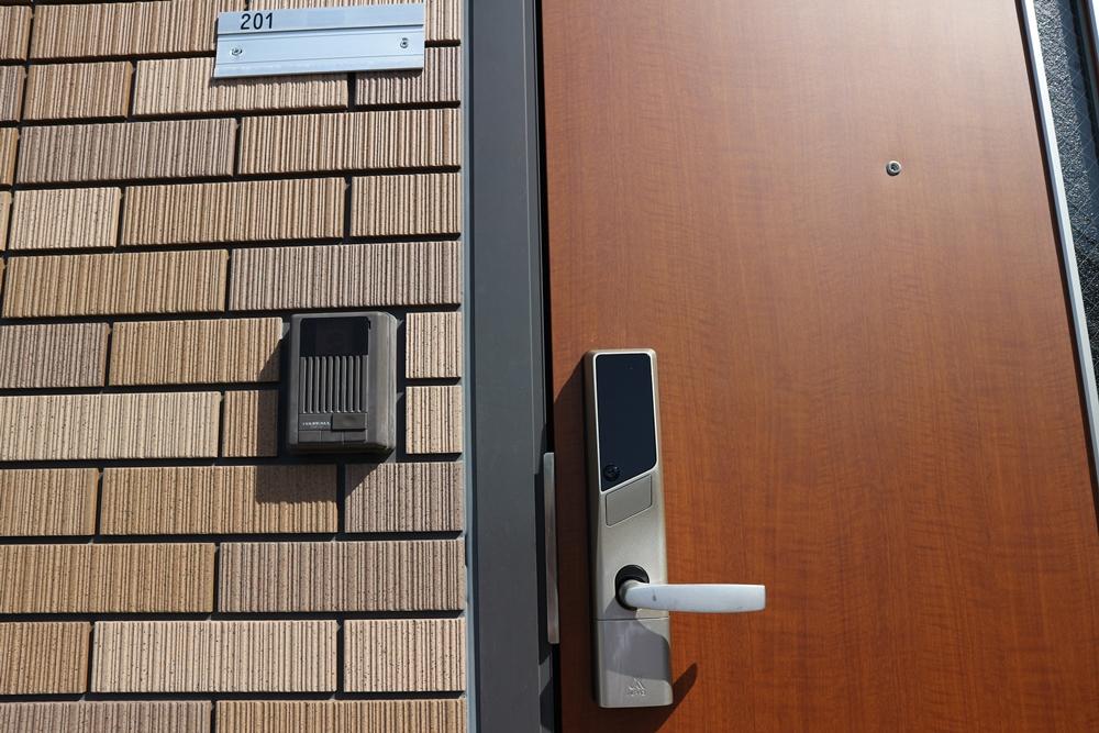 玄関デジタルロック