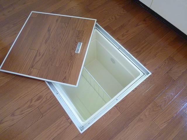 キッチンの床下収納