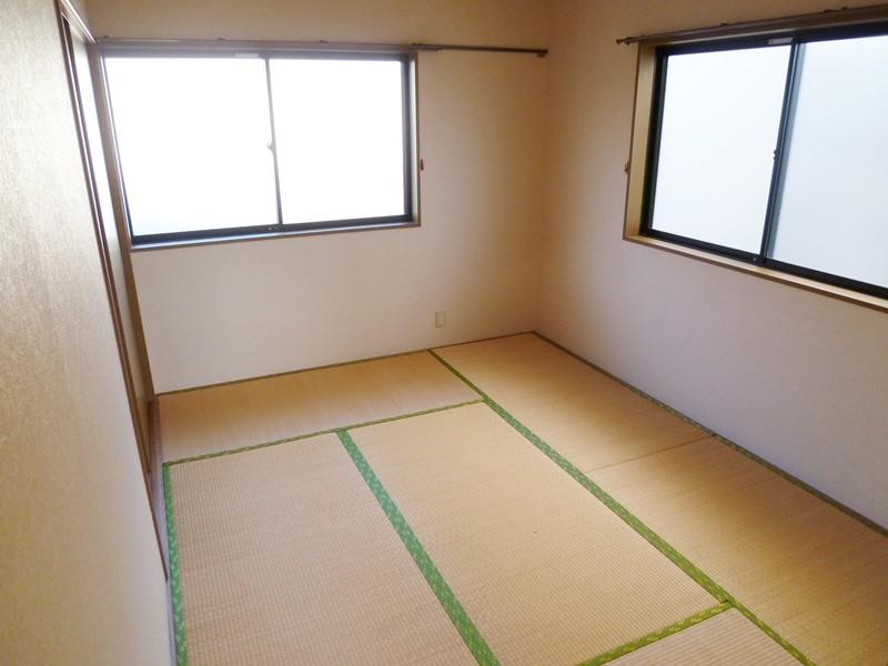 和室6帖の畳は、ご入居時期に合せて表替えします