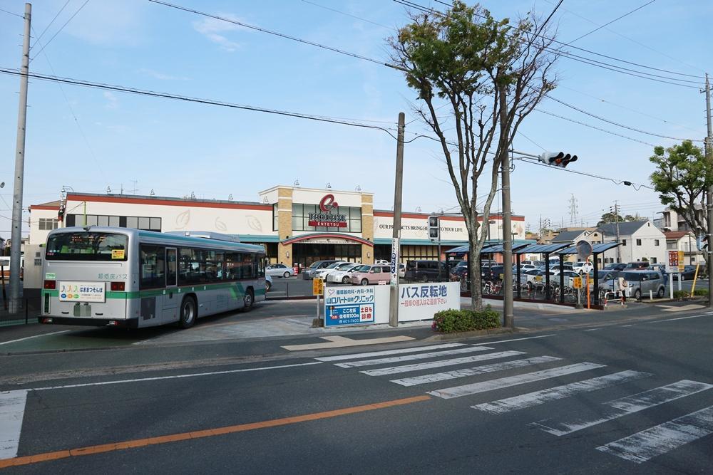 遠鉄ストア&バス停300m