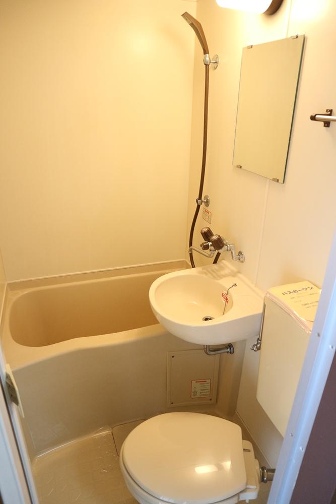 3点ユニット(風呂・洗面・トイレ)