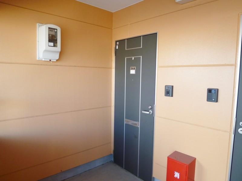 3A号室玄関