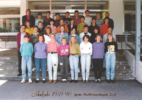 Polytechnischer Lehrgang 1989/90 - Klasse 2