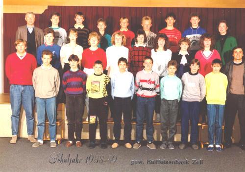 Polytechnischer Lehrgang 1988/89 - Klasse 1
