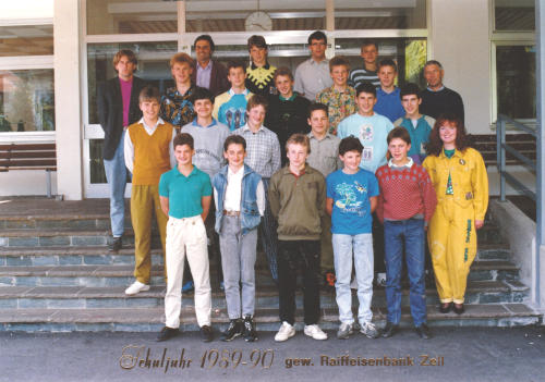 Polytechnischer Lehrgang 1989/90 - Klasse 3