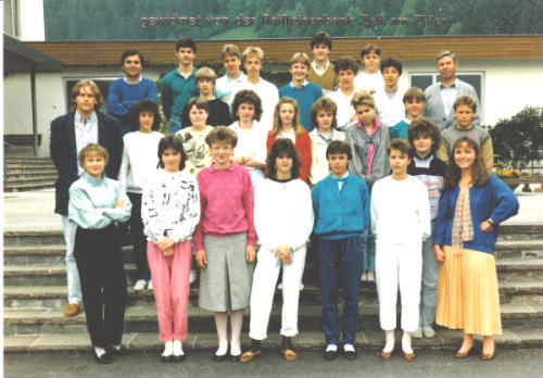 Polytechnischer Lehrgang 1986/87 - Klasse 1