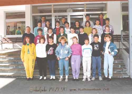 Polytechnischer Lehrgang 1989/90 - Klasse 1