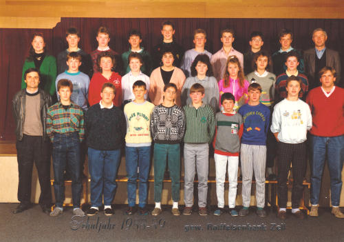 Polytechnischer Lehrgang 1988/89 - Klasse 2