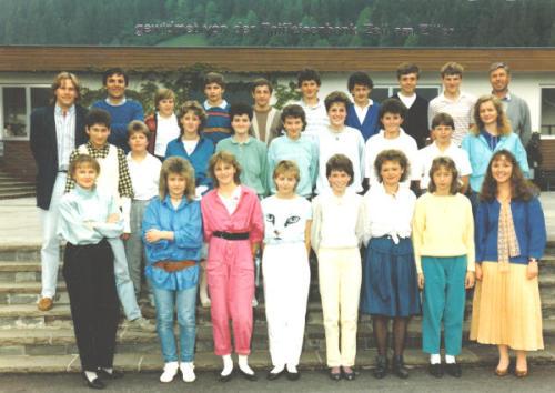 Polytechnischer Lehrgang 1986/87 - Klasse 2