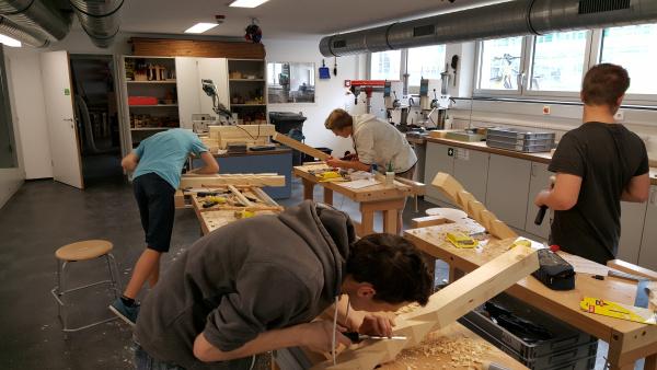 Bereich Holztechnik