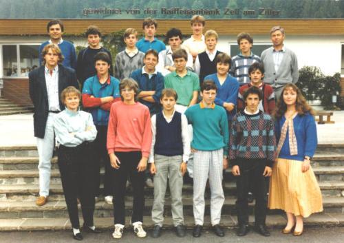 Polytechnischer Lehrgang 1986/87 - Klasse 3