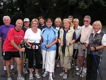 Nordic-Walking Gruppe