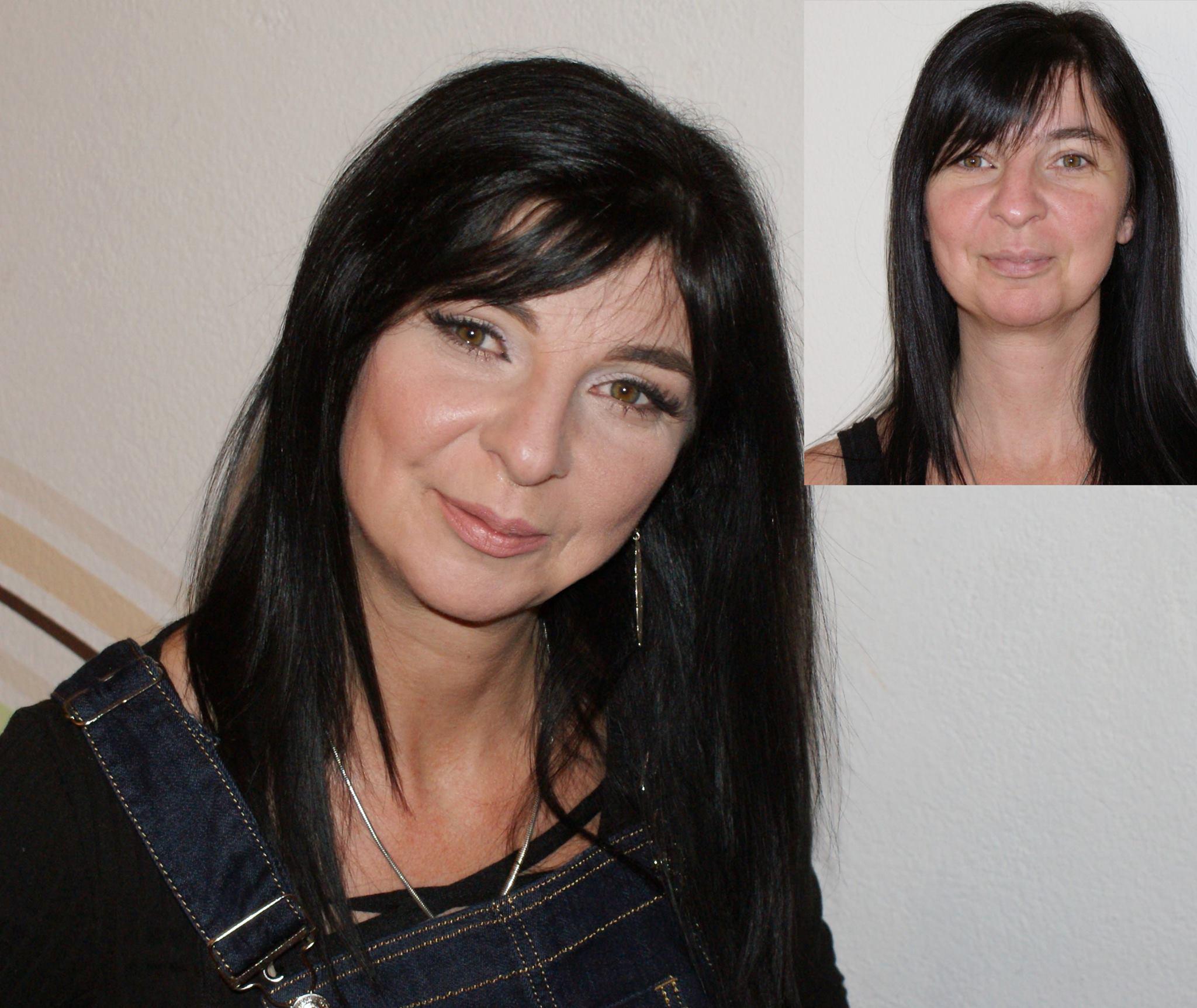 Claudia Vorher / Nachher