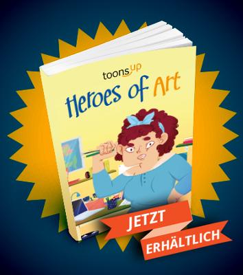 Toons-UP Heroes Of Art