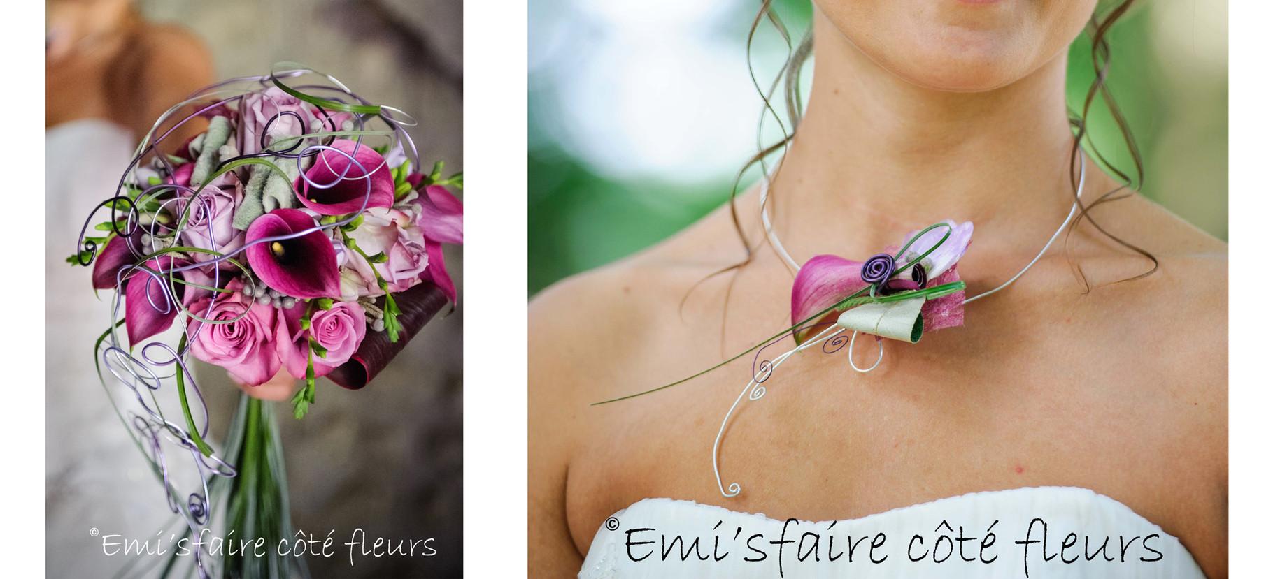 Bouquets et Bijoux de mariées