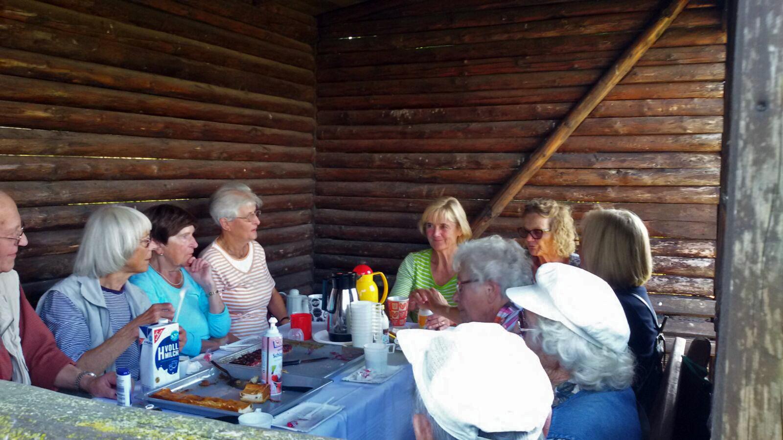 Dienstagswanderung:  Am Stuvenberg 27.9.16