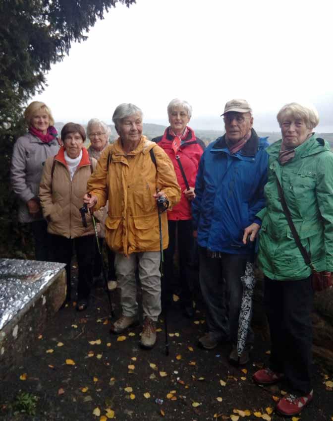 Dienstagswanderung: Stadtwald Wolfhagen 25.10.16