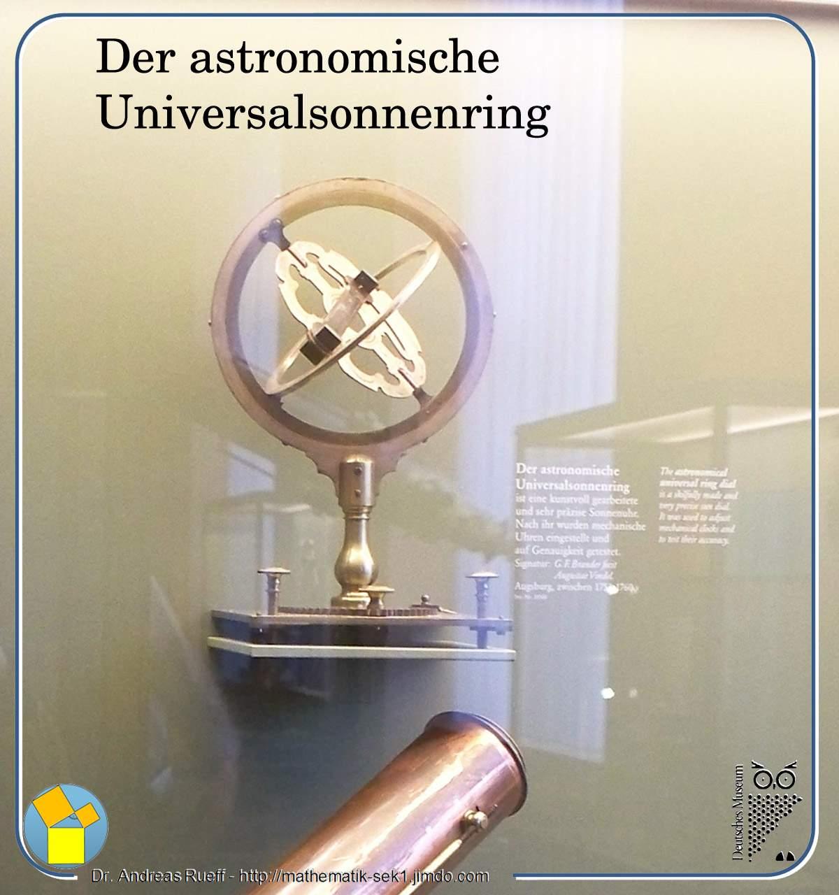 Astronomischer Universalsonnenring