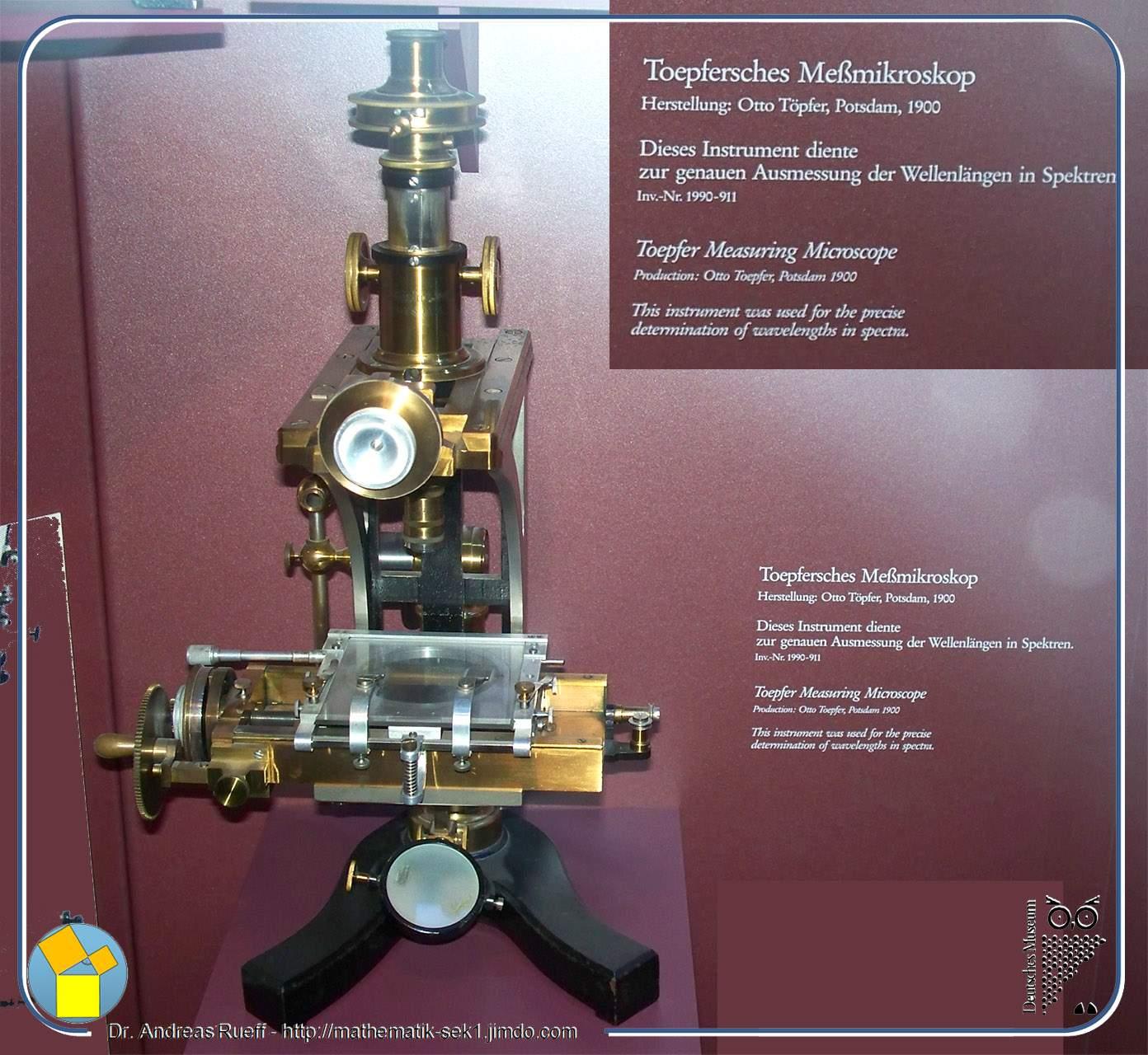 Toepfersches Meßmikroskop