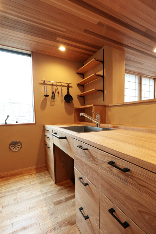 造作キッチン3