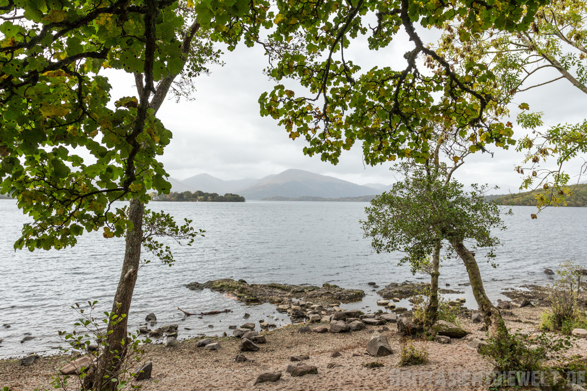 Loch Lomond, am Strand