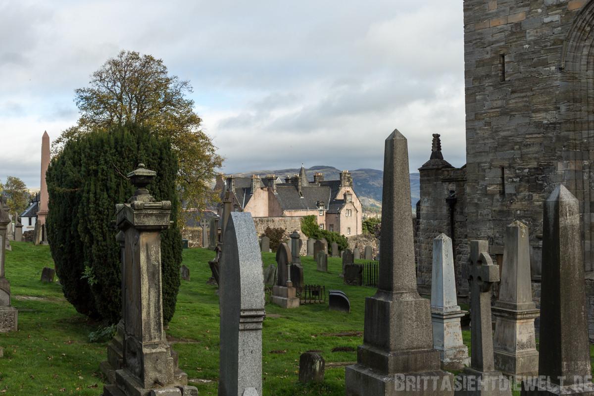 Friedhof und Argyll's Lodging