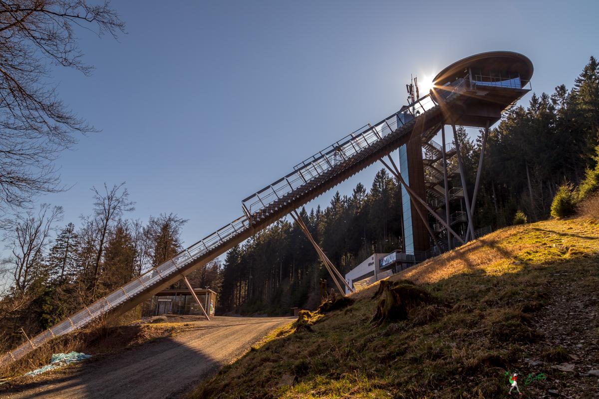 mühlenkopfschanze, skisprung, schanze, niedersfelder, hochheide, sauerland, wandern, heidelandschaft, seelenort, aussicht, wanderung