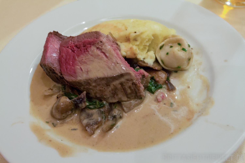 mein Lieblingsessen: Steak vom Rentier