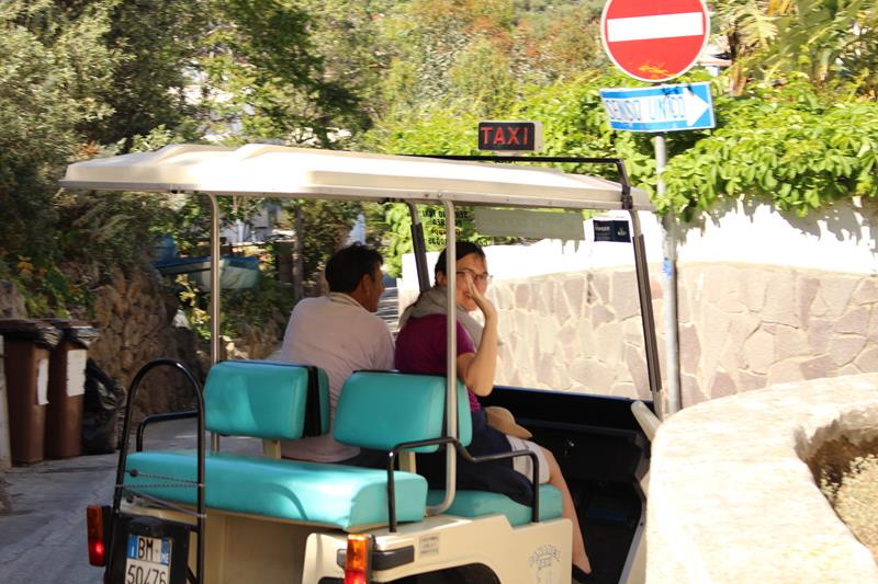 Panarea, liparische, Inseln, tipps, straße, taxi, elektroauto, car