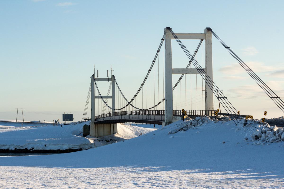 Brücke bei Jökulsárlón