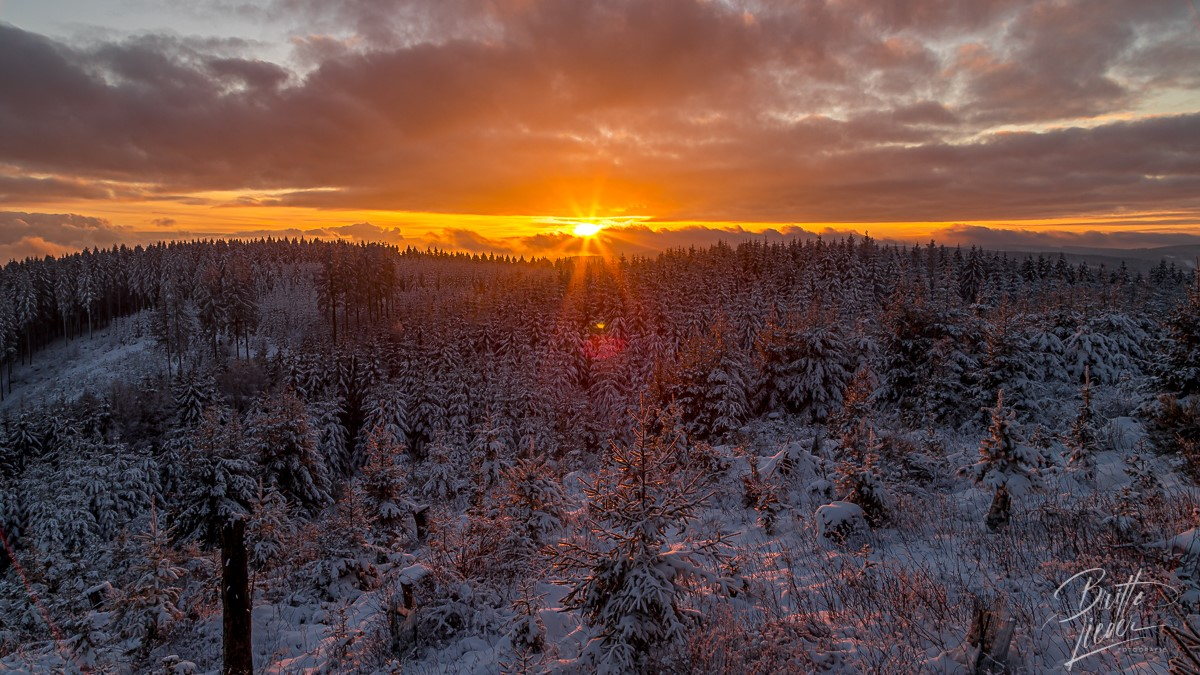 Sauerland, wandern, wanderung, homert, meinkenbracht, winter, schnee, sonnenuntergang, licht, emotionen
