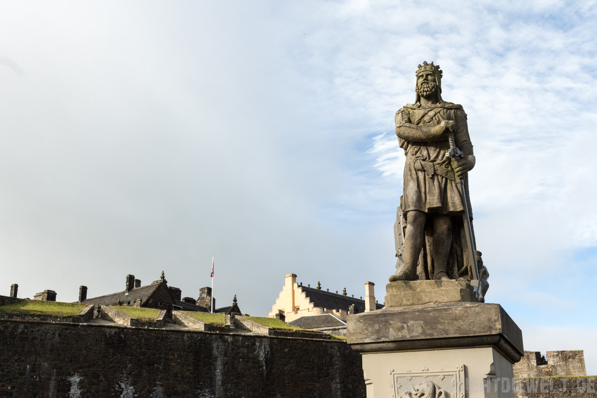 Statue of Robert The Bruce