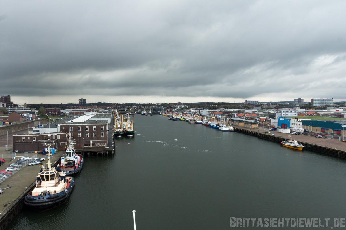 IJmuidens Hafen