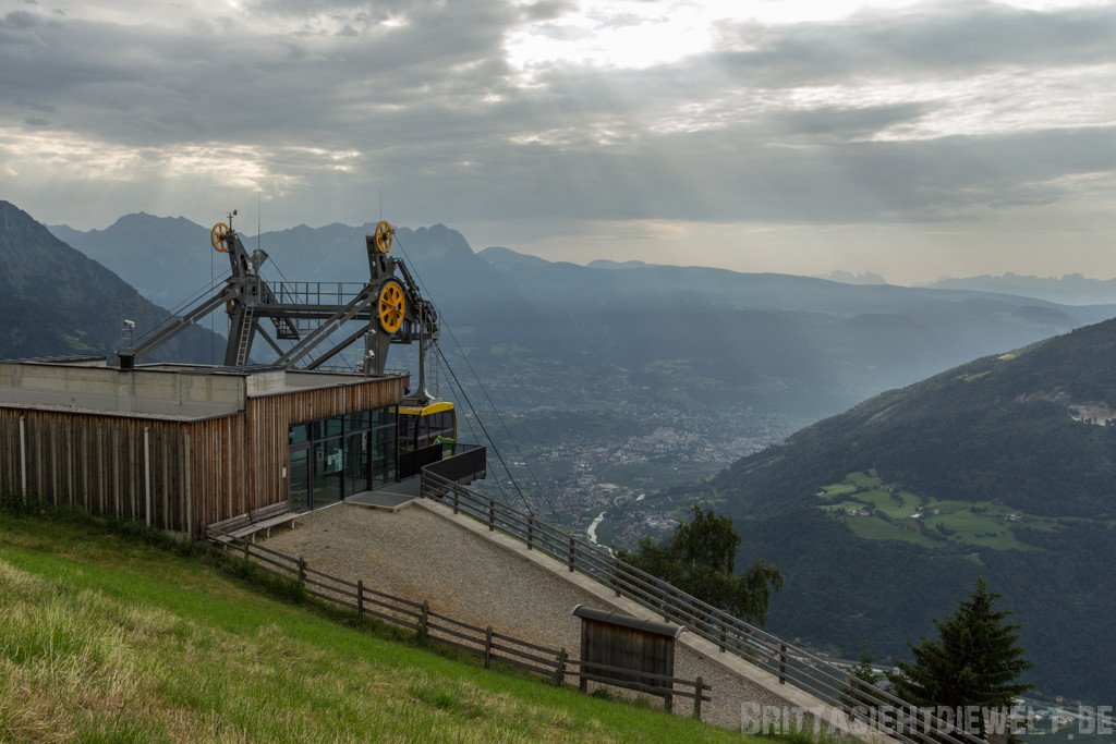 Bergstation Texelbahn