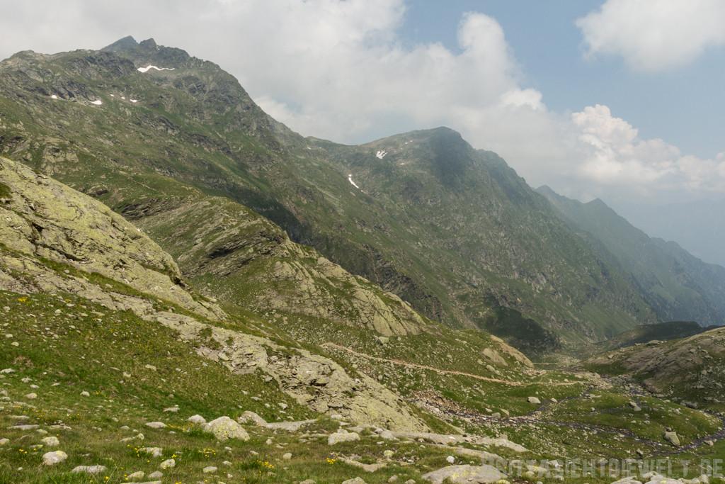 Blick ins Spronsertal in Richtung Oberkaserhütte