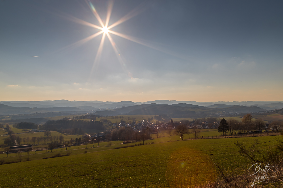 Sauerland - Golddorf Route Holthausen