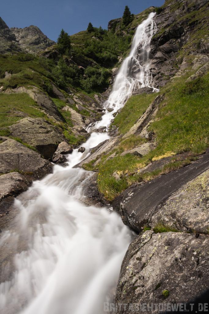 Wasserfall im Zieltal