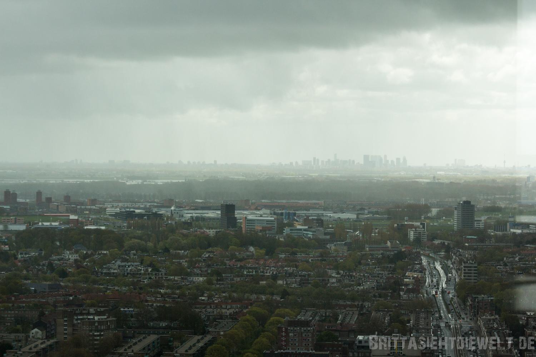 Blick in Richtung Rotterdam