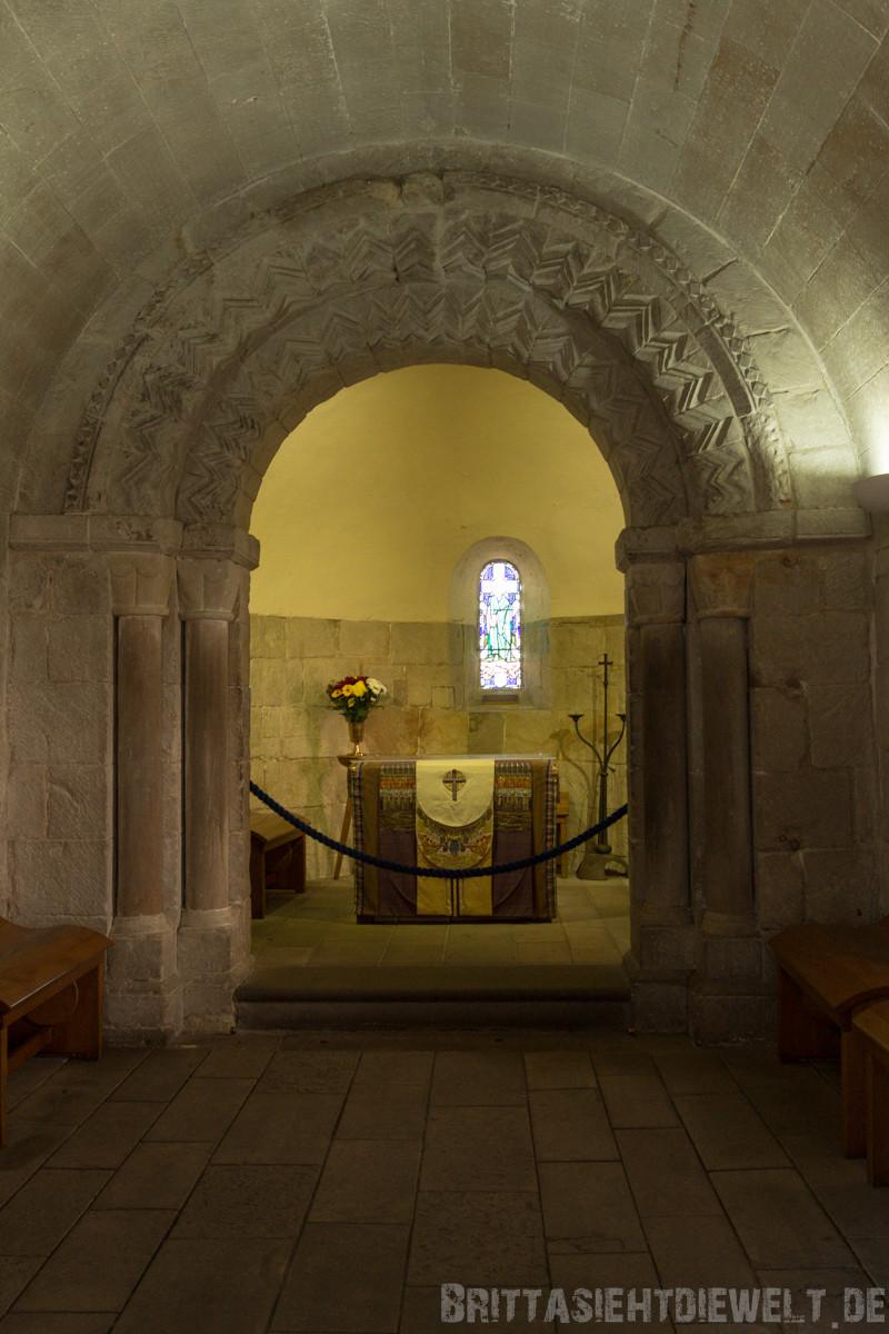 ...im Innenraum der St. Margaret's Chapel