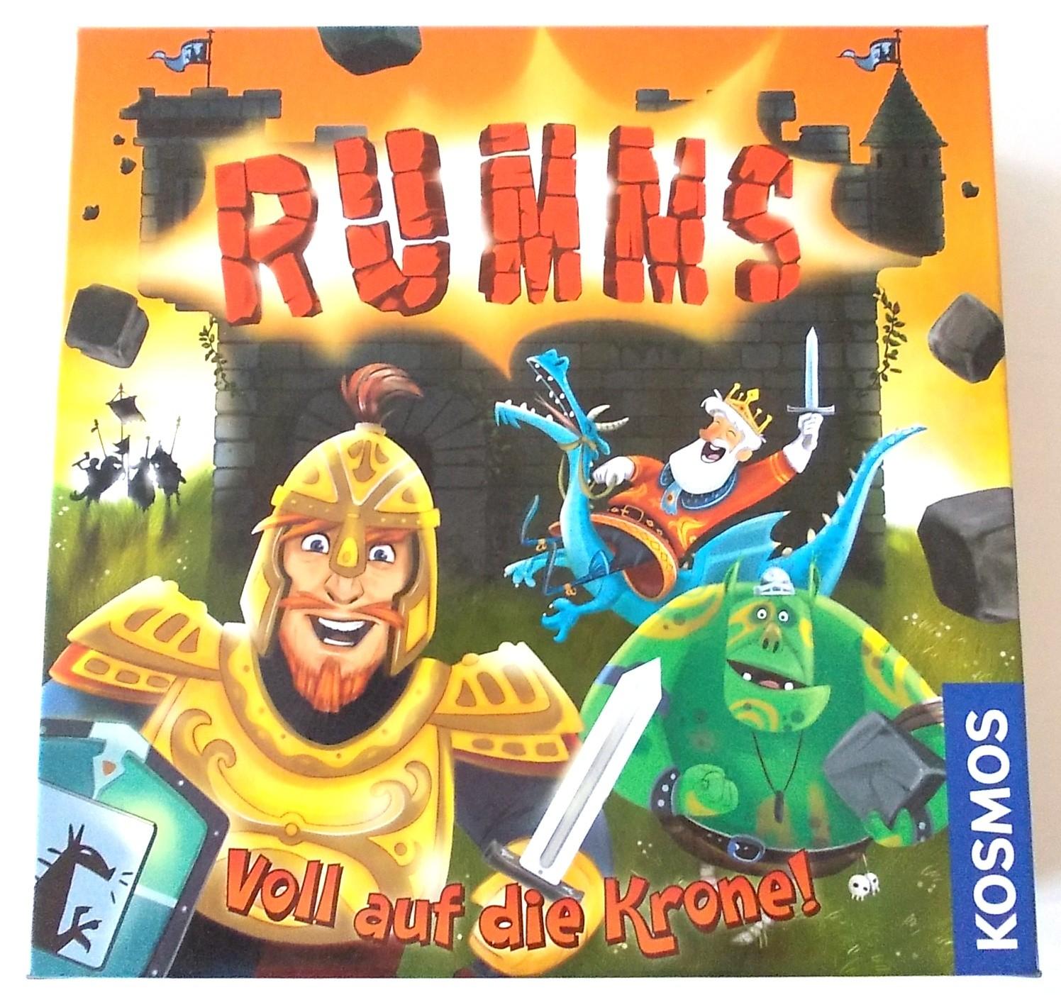 KOSMOS: Rumms – Voll auf die Krone! - www.spielzeug-check.de
