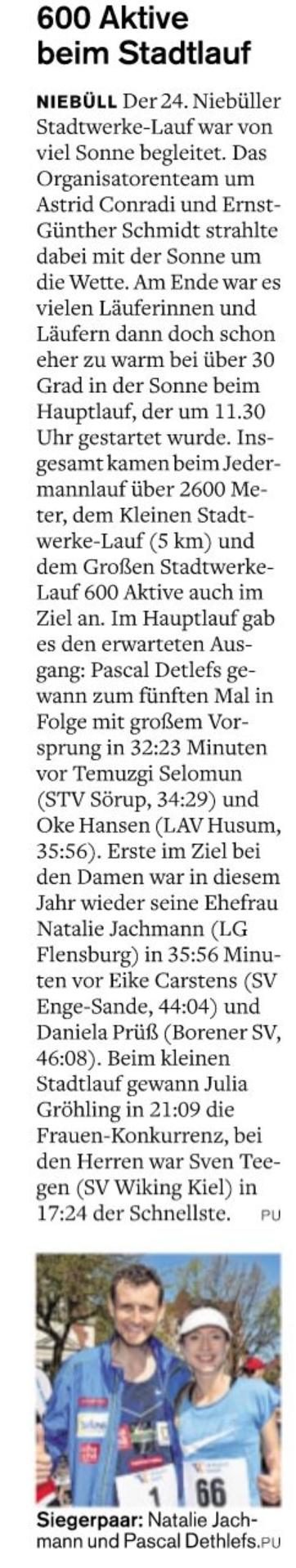 Doppelsieg in Niebüll