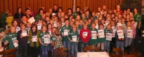 103 Teilnehmer haben 2009 das Deutsche Sportabzeichen verliehen bekommen