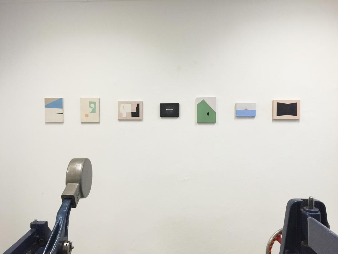 Belgische Wochen / Galerie Voss, Dortmund, 2016